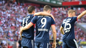 «Бавария» переиграла «Кёльн», «Боруссия» уступила «Майнцу» и другие результаты матчей Бундеслиги