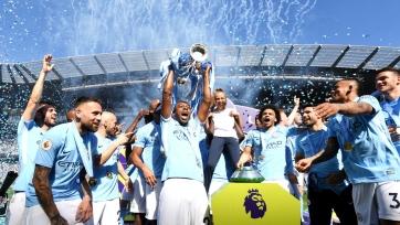 «Манчестер Сити» вручили кубок АПЛ