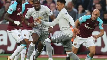 «Манчестер Юнайтед» не смог переиграть «Вест Хэм»