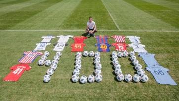Вилья отпраздновал 400-й гол в карьере