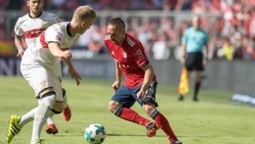 «Бавария» пропустила четыре мяча от «Штутгарта», «Гамбург» понизился в классе и другие результаты матчей Бундеслиги