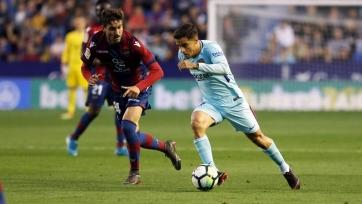 «Барселона» проиграла «Леванте», пропустив пять мячей от соперника