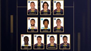 Союз футболистов Франции выбрал символическую сборную Лиги 1