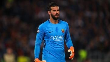 «Рома» нашла замену Алиссону и может продать бразильца в «Ливерпуль»