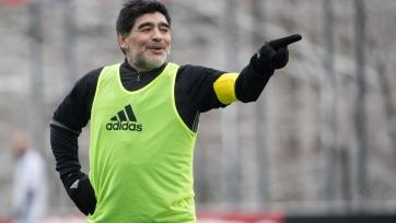 Марадона договорился о контракте с брестским «Динамо»