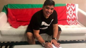 Официально: Марадона - председатель правления брестского «Динамо»