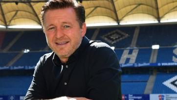 «Гамбург» решил не увольнять тренера после вылета из Бундеслиги