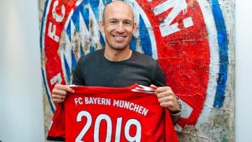 Официально: Роббен продлил контракт с «Баварией»