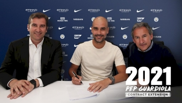 Официально: «Ман Сити» продлил контракт с Гвардиолой