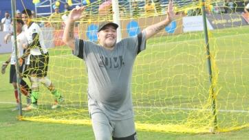 Марадона выиграл Кубок Беларуси в первом матче с «Динамо»