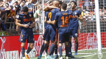 «Валенсия» завершила сезон победой над «Депортиво» и на четвёртом месте в Примере
