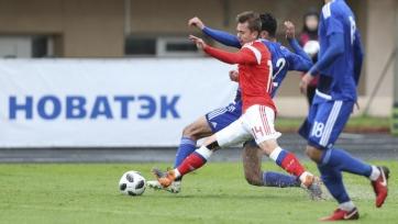 Российская «молодёжка» забила три мяча Кипру