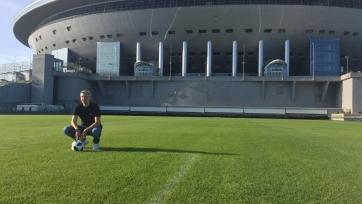 Креспо поделился впечатлениями от арены «Санкт-Петербург»