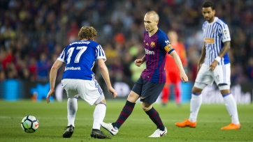 «Барселона» переиграла «Реал Сосьедад» благодаря голу Коутиньо