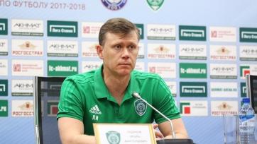 Официально: Ледяхов утверждён главным тренером «Ахмата»