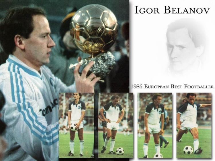 Герой ЧМ-86: Игорь Беланов. Лучший игрок года в Европе