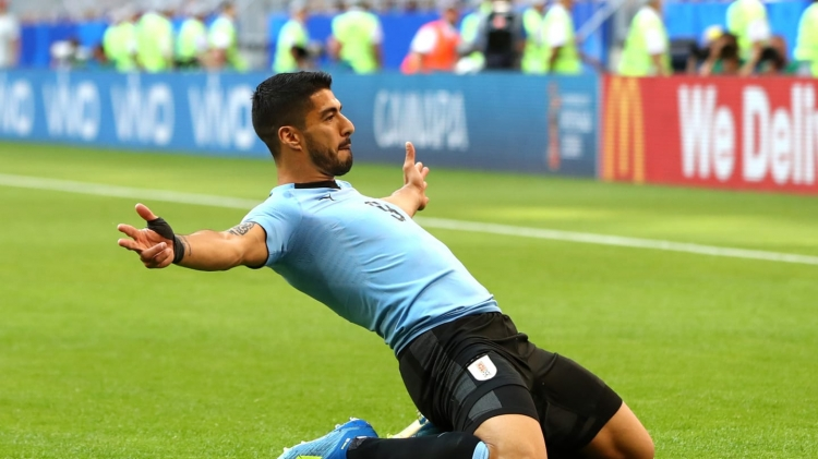 Суарес – лучший игрок матча Россия – Уругвай