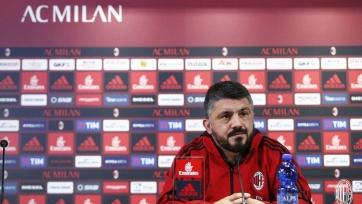 Гаттузо заявил, что «Милан» не намерен отпускать Калинича и Силву