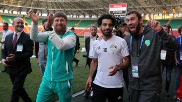 Кадыров прервал отдых и сон Салаха, чтобы появиться с ним на публике