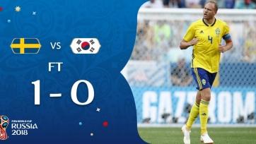 Гранквист назван лучшим игроком матча Швеция – Южная Корея