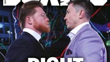 Обложку Boxing News украсили Геннадий Головкин и «Канело»