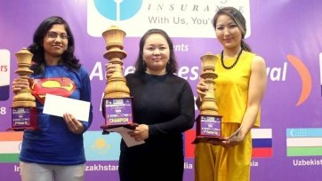 Чемпионка Казахстана по шахматам выиграла серебро на турнире в Индии