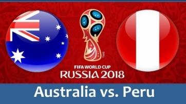 Австралия - Перу. Стартовые составы команд
