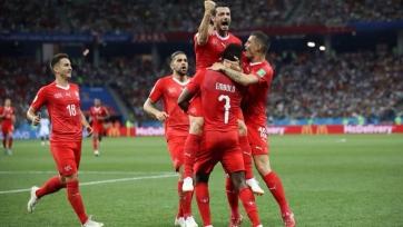 Джемаили – лучший футболист игры Швейцария – Коста-Рика