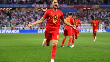 Янузай – лучший игрок матча Англия – Бельгия