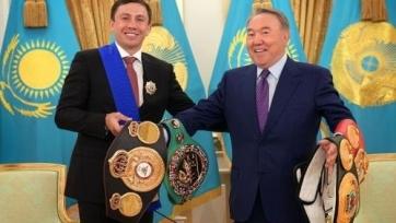 Головкин встретился с Назарбаевым