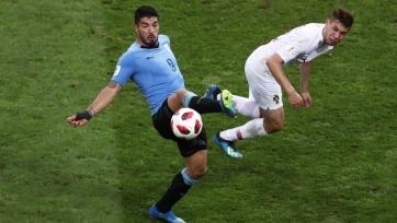Сборная Уругвая переиграла Португалию и вышла в 1/4 финала Чемпионата мира