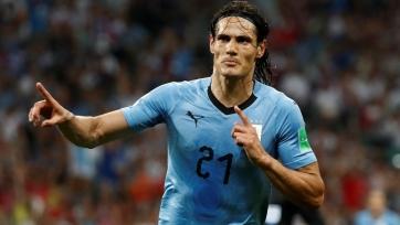 Кавани – лучший игрок матча Уругвай – Португалия