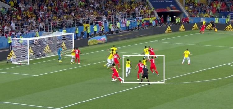 Англии не везло до серии пенальти. Она гораздо лучше Колумбии