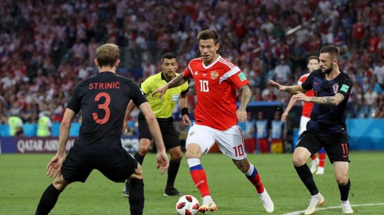 Невезучая Хорватия дожала Россию. Модрич – король