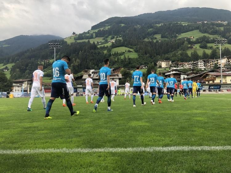 Зенит выиграл в матче со швейцарской командой