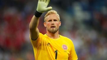 Шмейхель признан лучшим игроком матча Хорватия – Дания