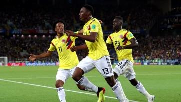 Мина: «Колумбия показала больше Англии и не заслуживала поражения»