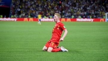 Де Брёйне отреагировал на победу Бельгии
