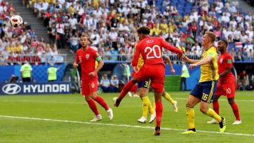 Сборная Англии выиграла в матче со Швецией и пробилась в полуфинал ЧМ