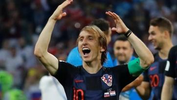 Модрич признан лучшим игроком матча Россия – Хорватия