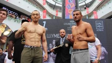 Бейбут Шуменов вернул себе пояс WBA