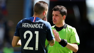 ФИФА объявила рефери матча Франция – Бельгия