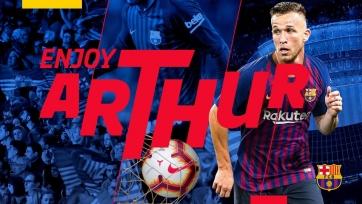 Официально: Артур – игрок «Барселоны» (видео)