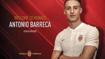 Официально: «Монако» усилился Антонио Баррекой
