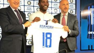 Асамоа официально представлен в качестве футболиста «Интера»