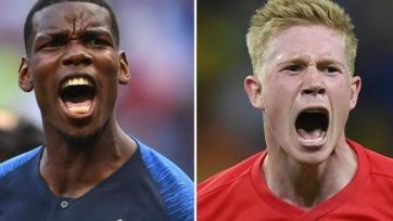 Франция – Бельгия. Стартовые составы команд