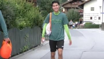 Лидер казахстанской сборной вернулся к тренировкам