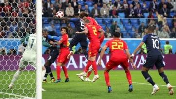 Футболисты сборной Бельгии подвергли критике игру команды Дидье Дешама
