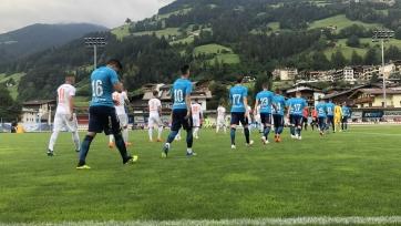 «Зенит» выиграл в матче со швейцарской командой