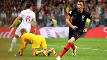 Сборная Хорватии оказалась сильнее Англии и вышла в финал Чемпионата мира